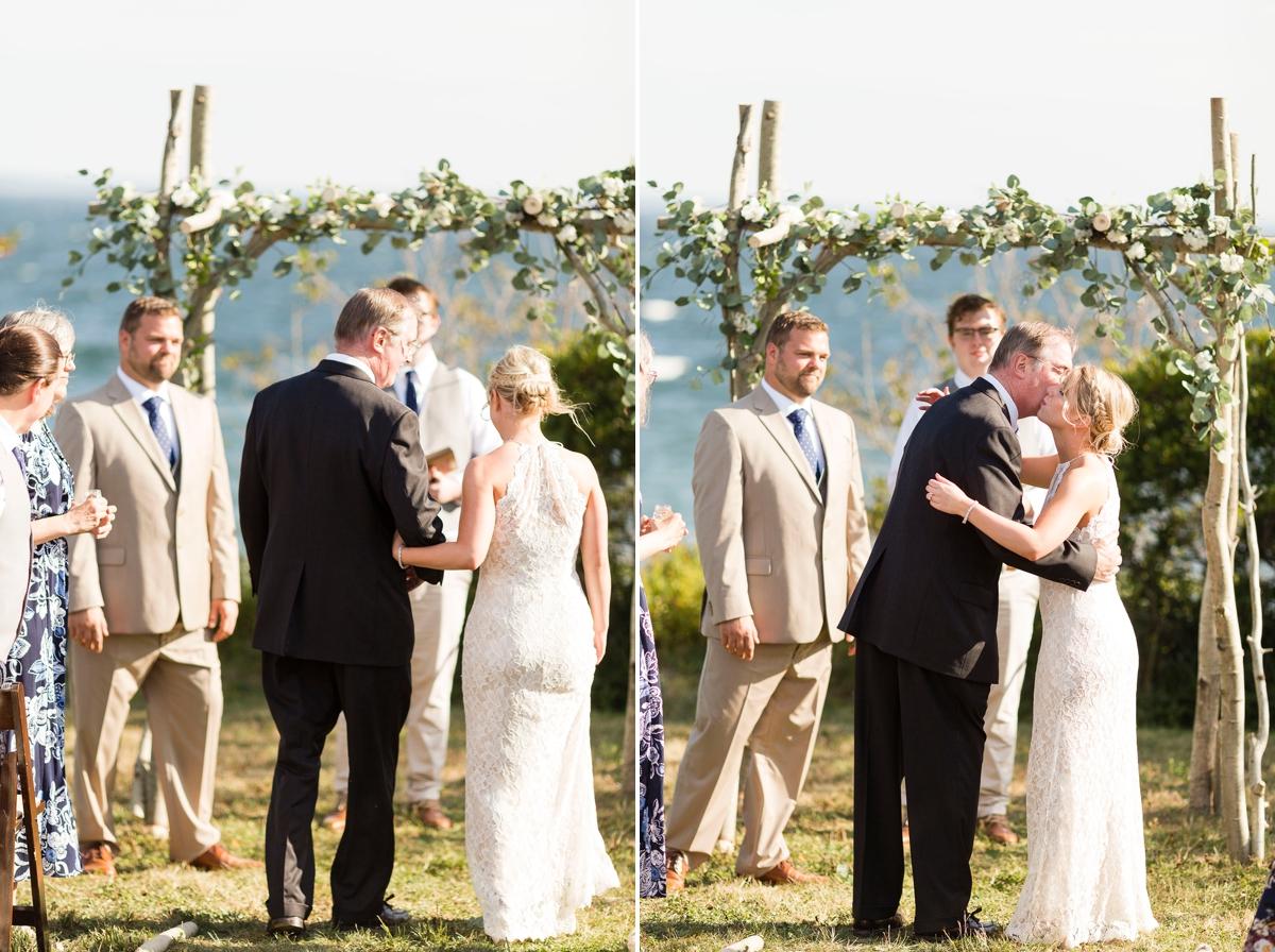 Maine wedding photographer, New England wedding, Maine destination wedding, searsport Maine, ocean wedding, boho wedding, diy wedding, Portside manor, ocean view wedding, small wedding