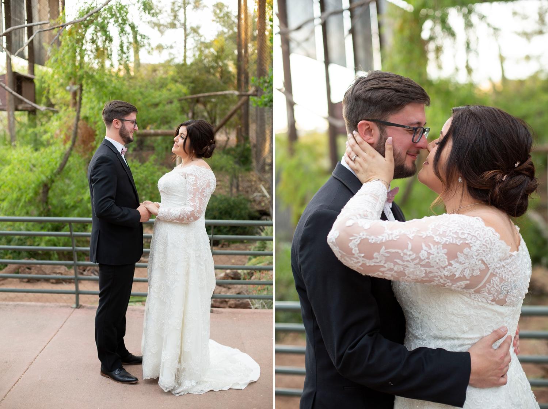 Phoenix zoo wedding, phoenix wedding photographer, arizona destination wedding, wedding in phoenix, intimate wedding inspiration, green wedding, small wedding, desert grove wedding, wedding portraits
