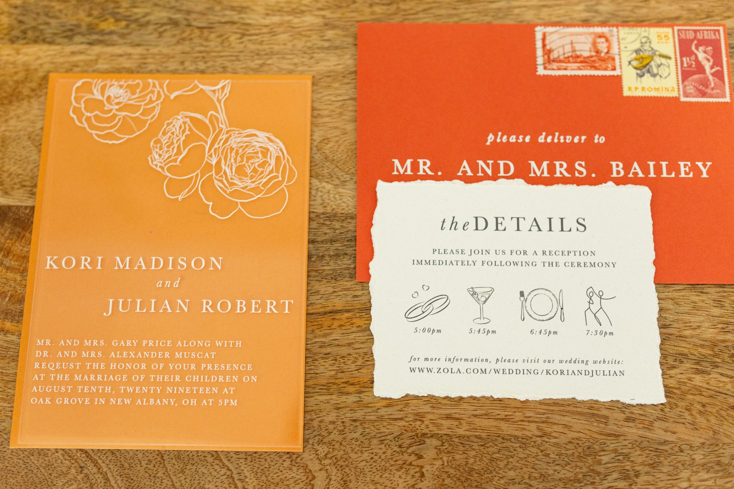 vivid invitation suite, orange invitation card, yellow wedding cake, wedding at jorgensen farms, summer wedding inspiration, jorgensen farms wedding, westerville wedding photographer, columbus wedding photographer, wedding photographer in columbus, jorgensen farms oak grove, new albany wedding, ruffled blog, events held dear, old slate farm floral, made with love bridal, b loved bridal, sarah w hair, angie warren artistry, aiden and grace, sigal models, unica forma, even source rentals
