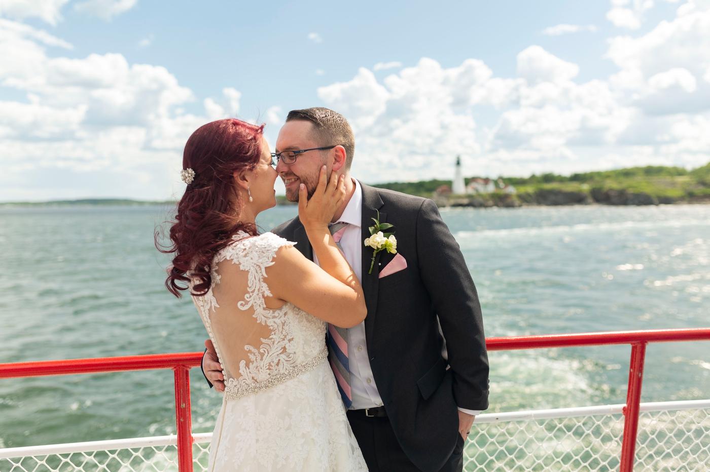 Inn on Peaks Island Wedding | Maine Wedding Photography | M + Z